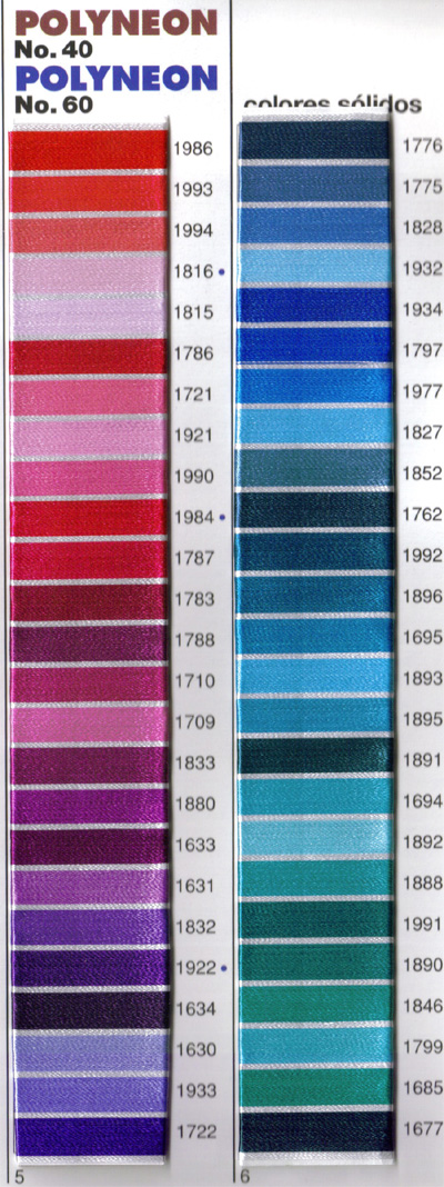 madeira thread colors on computer screens may vary based on the graphics card and monitor used in your system for true accuracy use the madeira thread - Madeira Color Chart